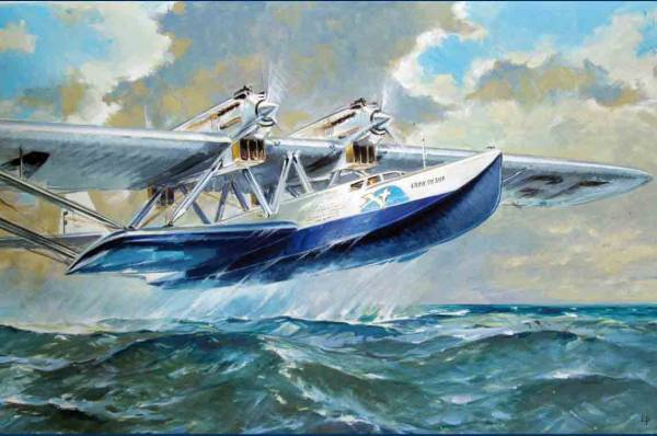 Lengellé Paul. Летающая лодка.