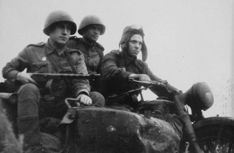 Наступление. 1943 г.