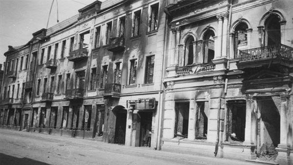 Улица Советская. Осень, 1941 г.