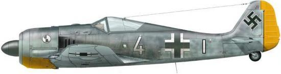 Dekker Thierry. Истребитель FW-190 A.