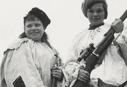 Белова Тамара (слева) одержала 12 побед