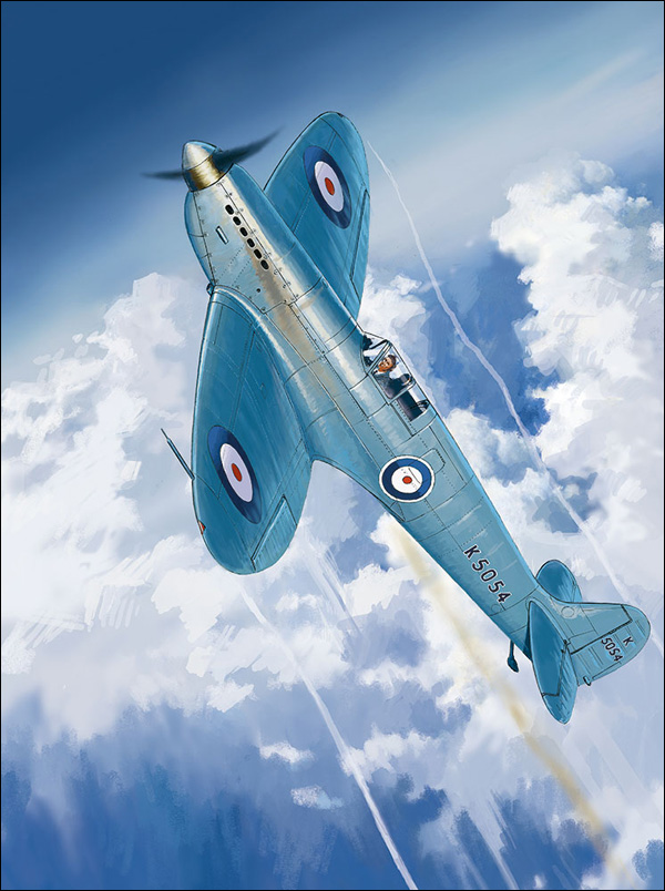 Perinotto Lucio. Истребители Morane Saulnier MS-406.