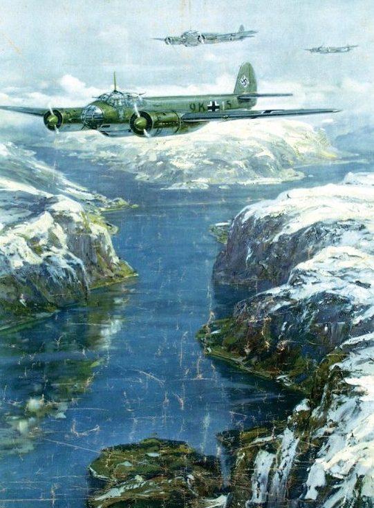 Bergen Claus Friedrich. Воздушный патруль.