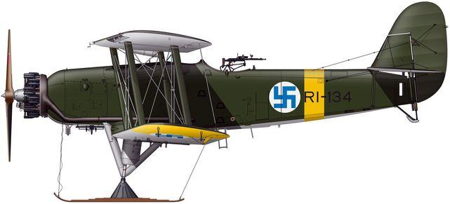 Tilley Pierre-André. Разведывательный самолет Blackburn Ripon IIF RI 137.