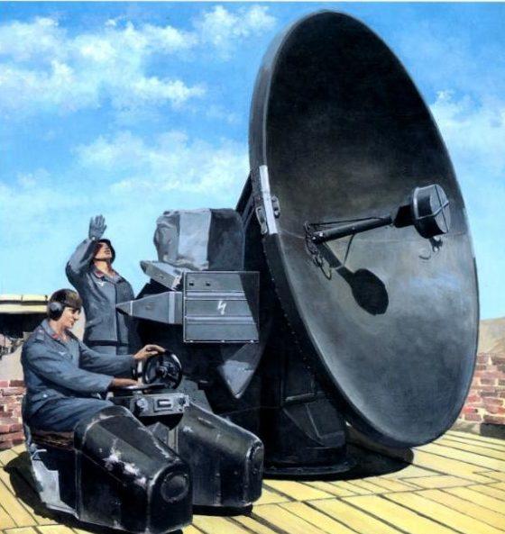 Horst Helmus. Мобильная радарная установка.