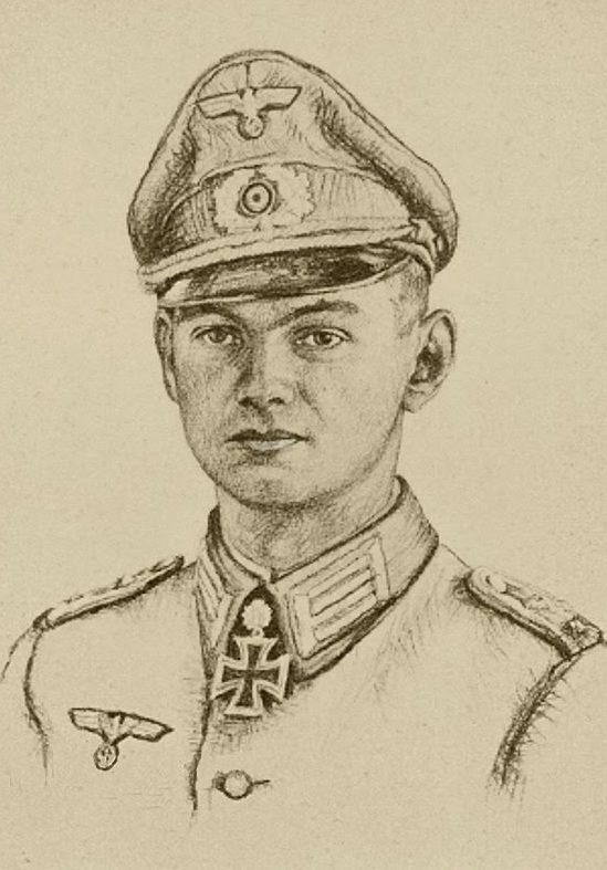 Oskar Graf. Портрет Werner Baumgarten-Crusius.
