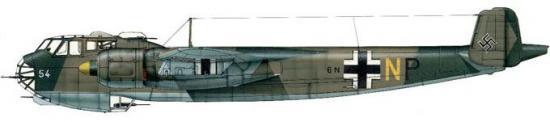 Dekker Thierry. Бомбардировщик Do 217E-5.