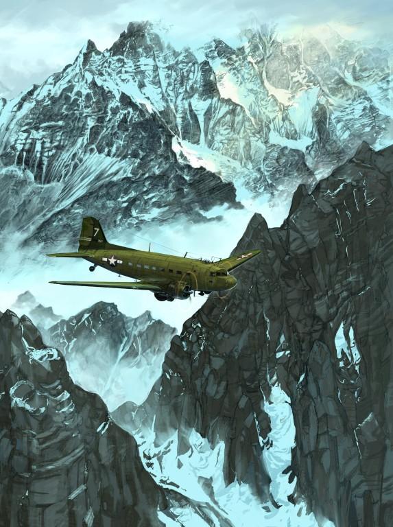 Hugault Romain. Военно-транспортный самолет.