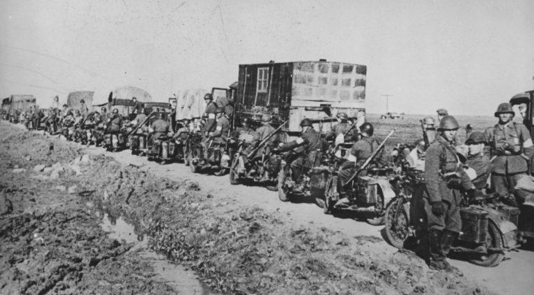 Румыны в окрестностях г. Керчи. 1941 г.