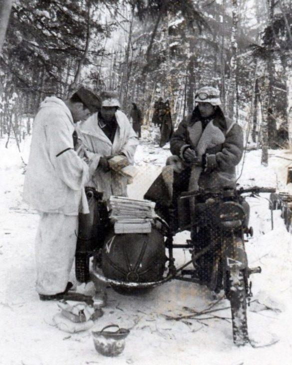 Норвегия. 1944 г.