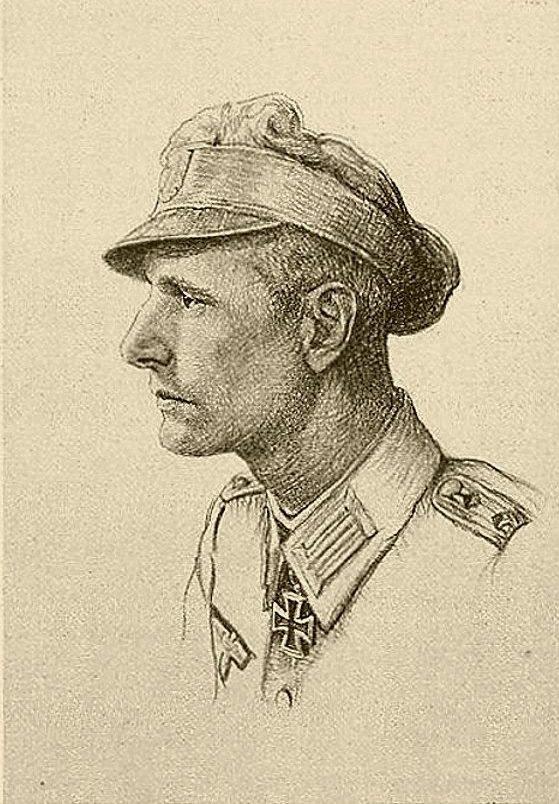 Oskar Graf. Портрет Hans Becke.