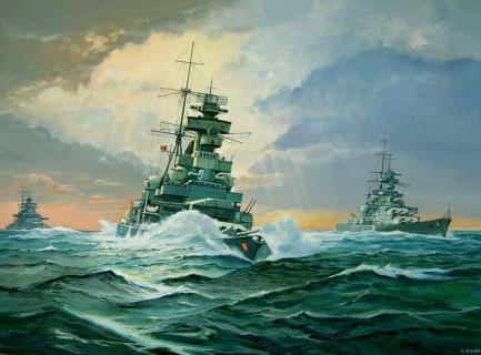 Guyot Michel. Линкор «Prinz Eugen».