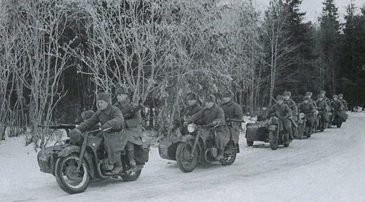 Мотопехота. 1943 г.