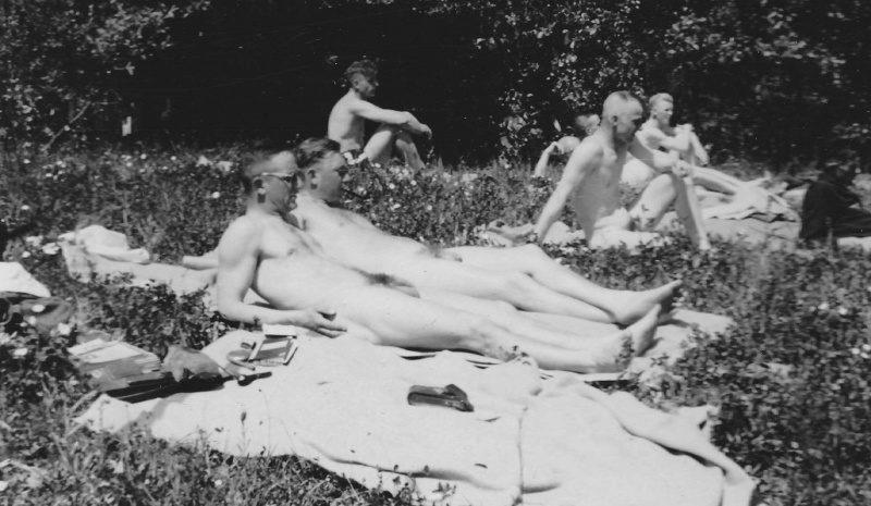 Солнечные «ванны».