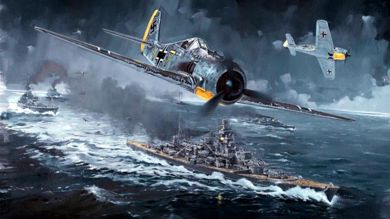 Howard Gerrard. Истребители FW-190 A.