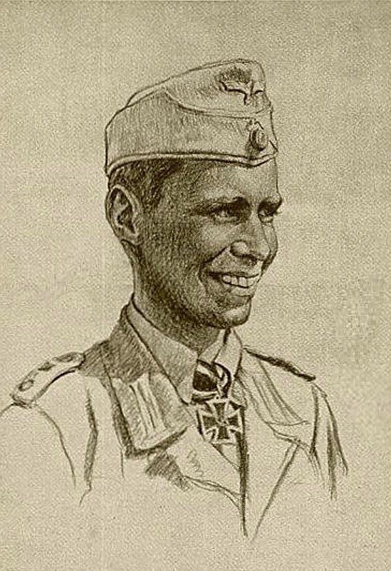 Oskar Graf. Портрет Winrich Behr.