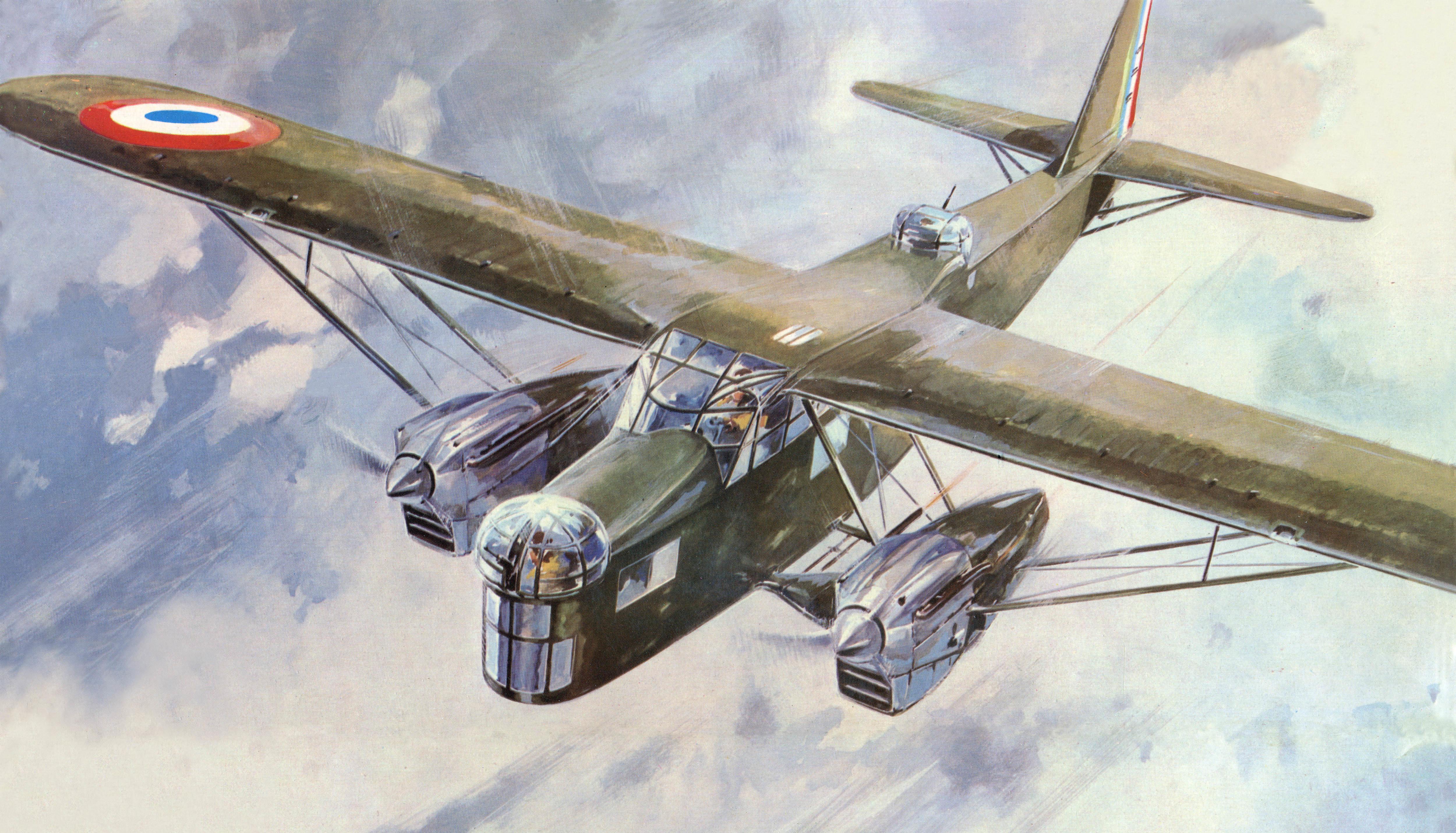 Lengellé Paul. Бомбардировщик Potez 540.