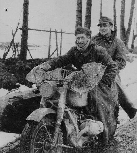 Мотоцикл BMW R 7. Германия. 1945 г.