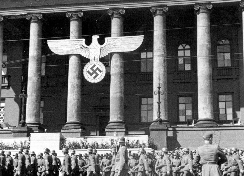 Университет им. Шевченко. 1 мая 1942 г.