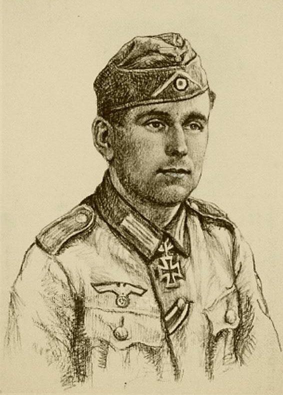 Oskar Graf. Портрет Heinz Berger.