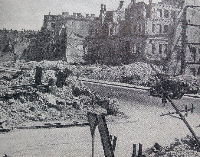 Крещатик. 1944 г.