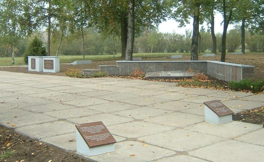 п. Виштитис Вилквишкского р-на. Воинское кладбище, на котором похоронен 401 воин 18-й гвардейской стрелковой дивизии, погибших в октябре 1944 года. Среди них – 214 неизвестных.