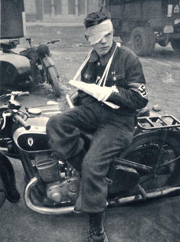 Гитлерюгенд. Германия. 1945 г.