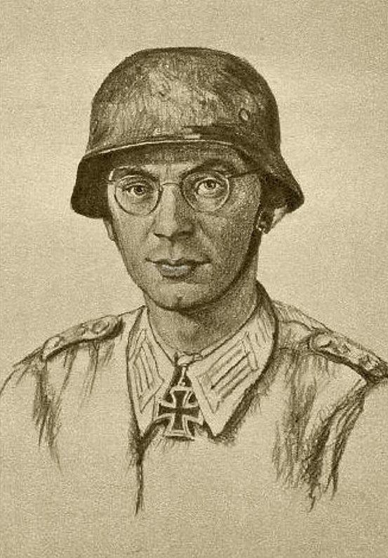 Oskar Graf. Портрет Wilhelm Bladt.