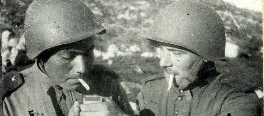 Снайперы Ш. Жамбора и В. Морозов.
