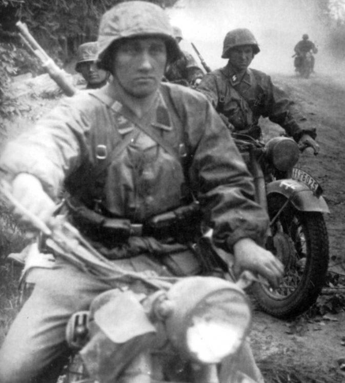 Разведка у Смоленска. 1941 г.