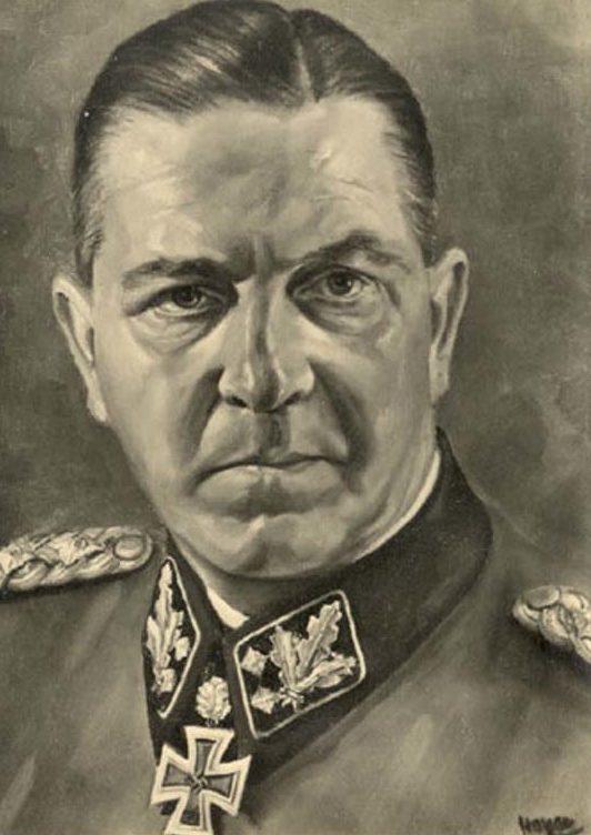 Hoyer Hermann Otto. СС-обергруппенфюрер Эйке.
