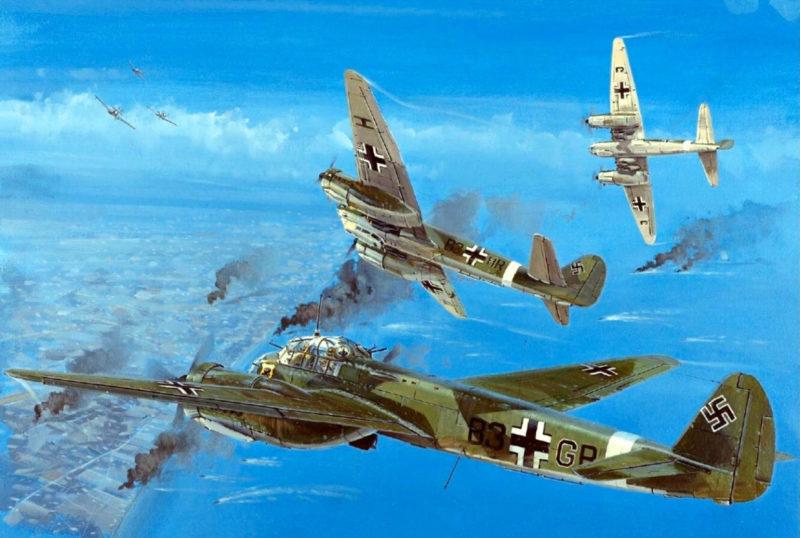 Howard Gerrard. Бомбардировщики Junkers.