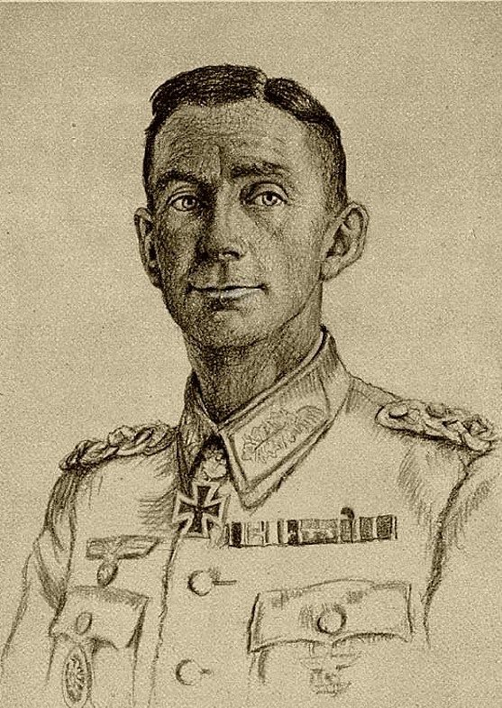 Oskar Graf. Портрет Eduard Dietl.