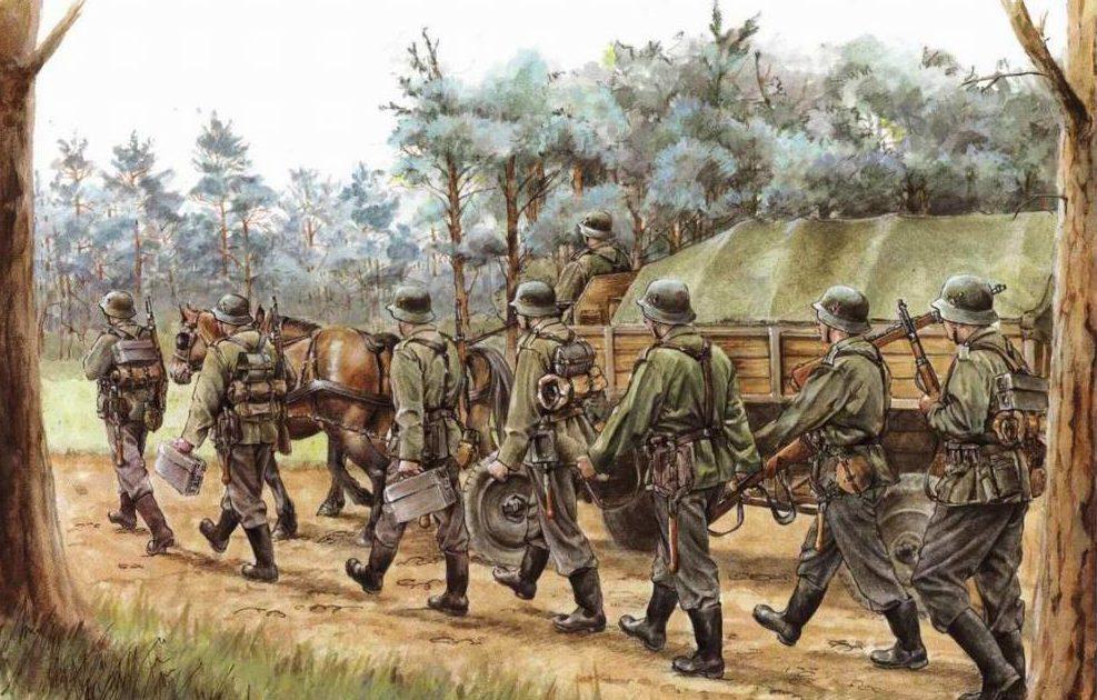 Sharp Elizabeth. Немецкая пехота в России.