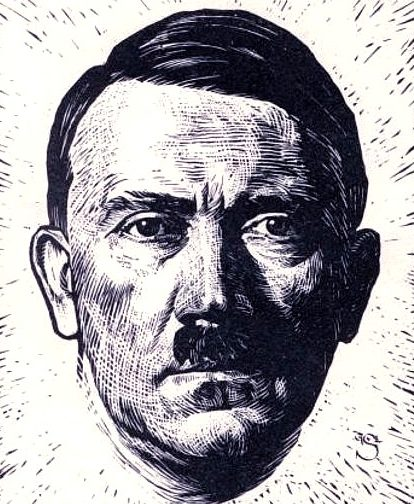 Sluyterman Georg. Гитлер.