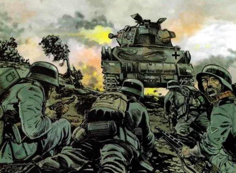 Mouminoux Guy. Пехота и танки.