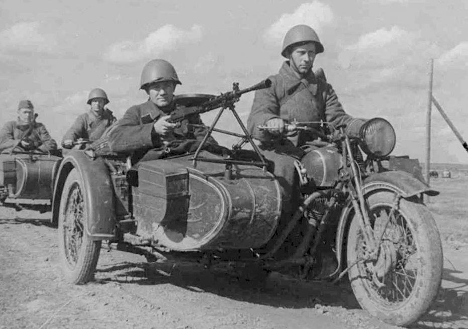 Разведка. Украина. 1944 г.