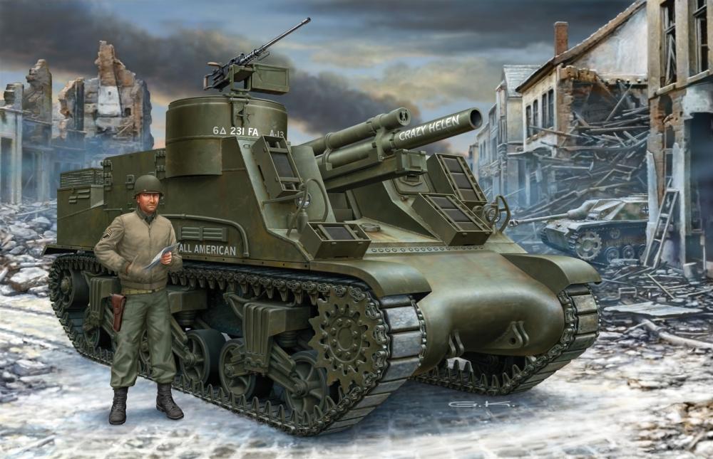 Klawek G. Танк M7 Priest.