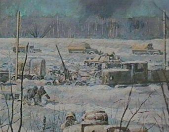 Белов Н. Диорама «Гибель 29-й армии в Мончаловских лесах».