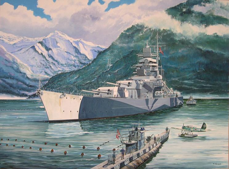 Guyot Michel. Линкор «Tirpitz».