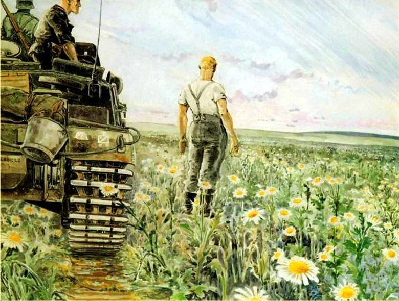 Mouminoux Guy. Немецкие танки на Украине.