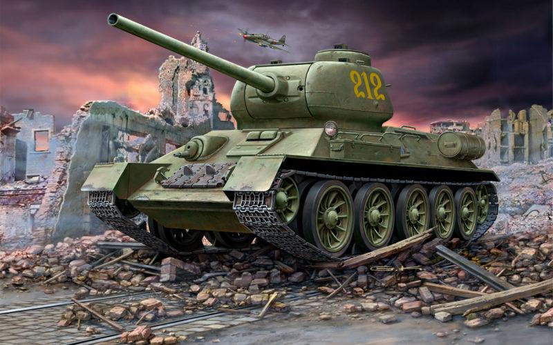 Klawek G. Танк Т-34-85.