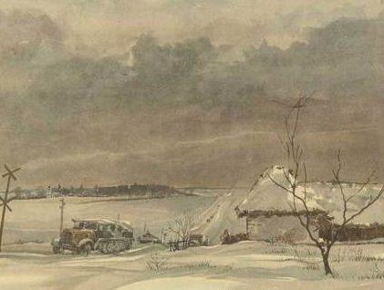 Brauner Fritz. Зима. 1942 год.