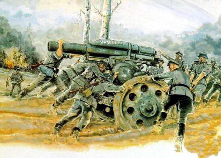 Mouminoux Guy. Артиллеристы.