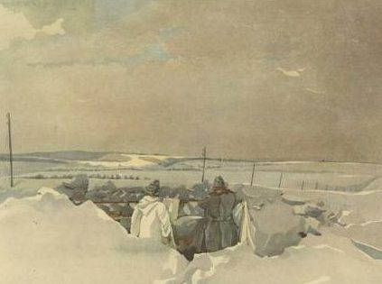 Brauner Fritz. Передовая.
