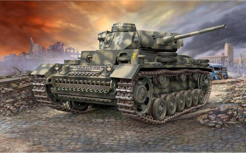 Klawek G. Танк PzKpfw III Ausf. L.