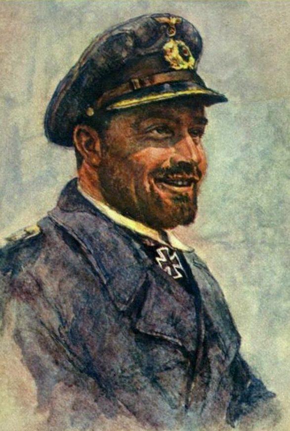 Oskar Graf. Портрет Erich Zürn.