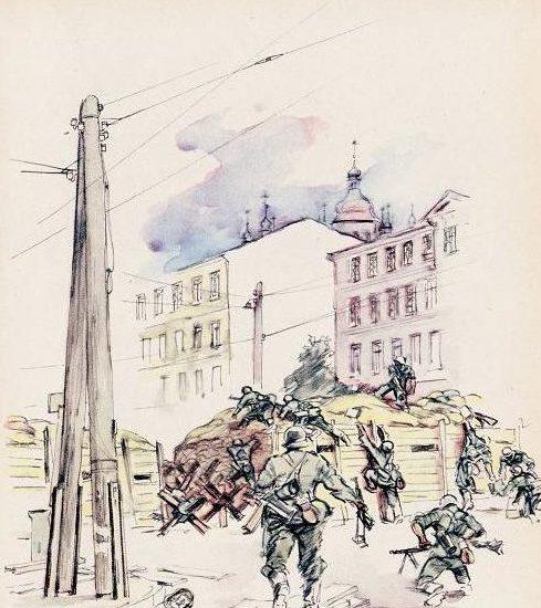 Eigener Ernst. Бой на улицах Киева.