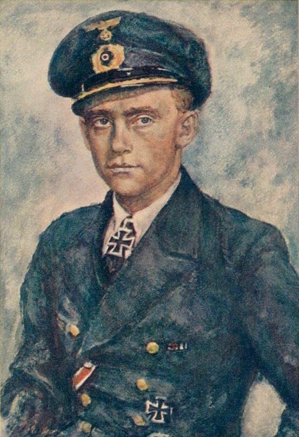 Oskar Graf. Портрет Friedrich Guggenberger.