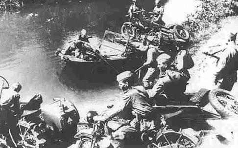 Переправа. 1944 г.